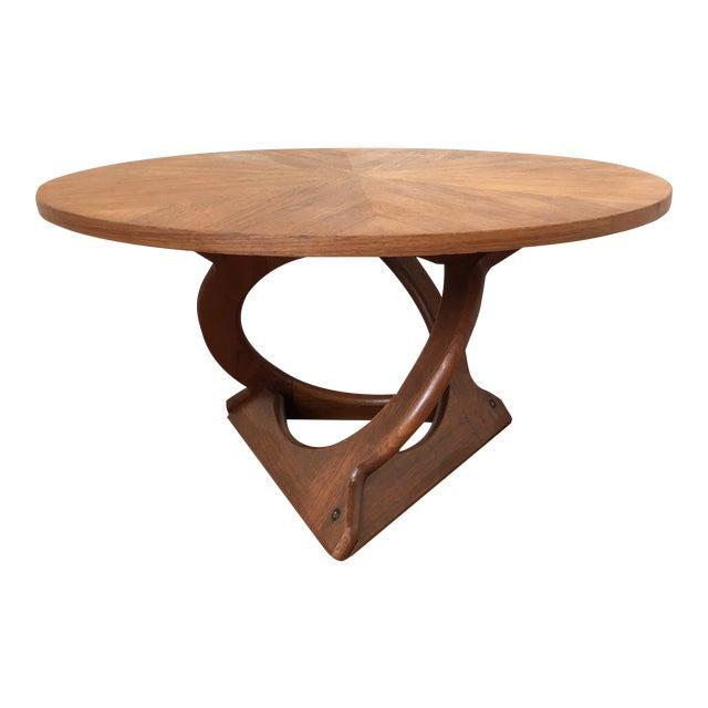 Vintage Mid-Century Soren Georg Jensen Danish Teak Coffee Table For Sale
