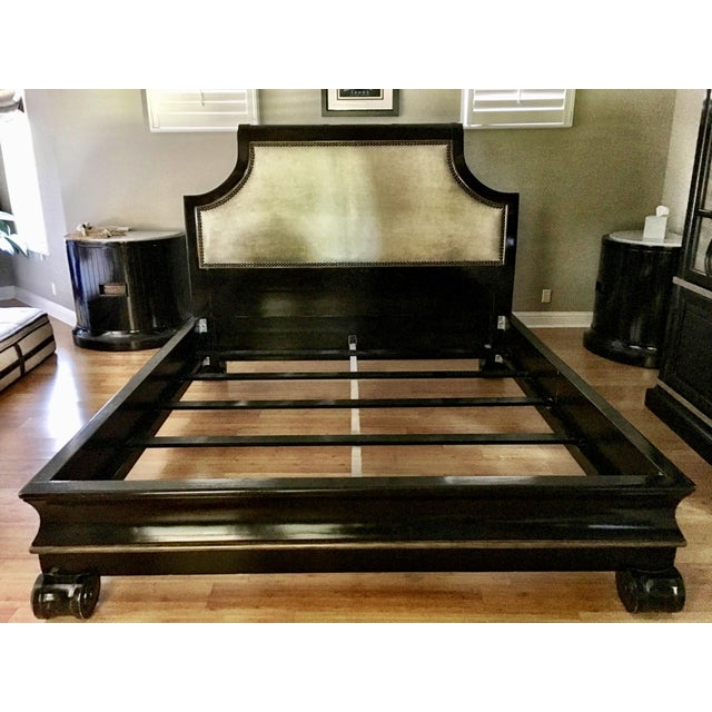 Marge Carson Cezanne King Bed For Sale - Image 12 of 12