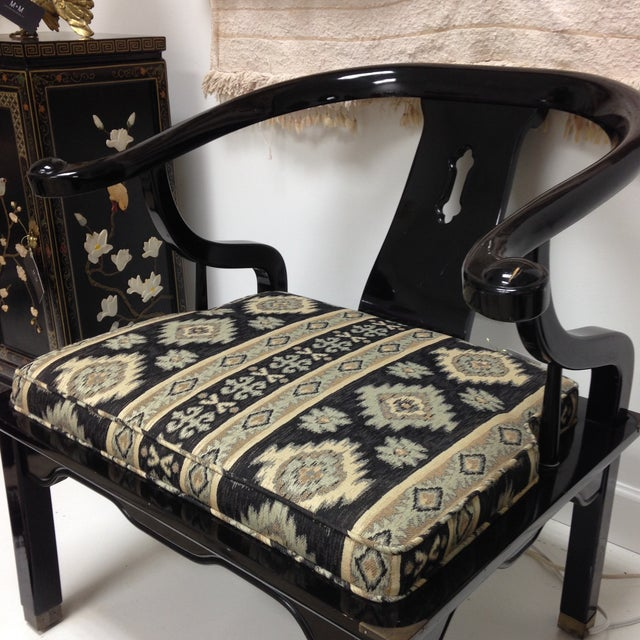 James Mont Style Ming Chair - Image 3 of 4
