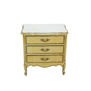 Provincial Style Nightstand of 3-Drawers For Sale