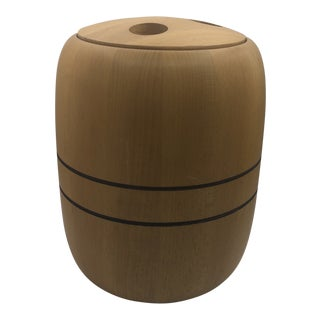 Nissen Denmark Wood Ice Bucket For Sale