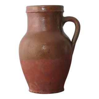 Small Rustic Turkish Terra Cotta Clay Jar