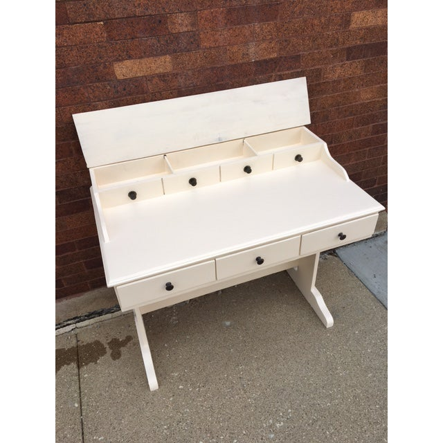 Vintage Painted Writing Desk - Image 6 of 6