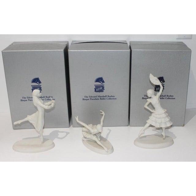 Vintage Boehm Ballerina Figurines - a Set of 3 For Sale - Image 13 of 13