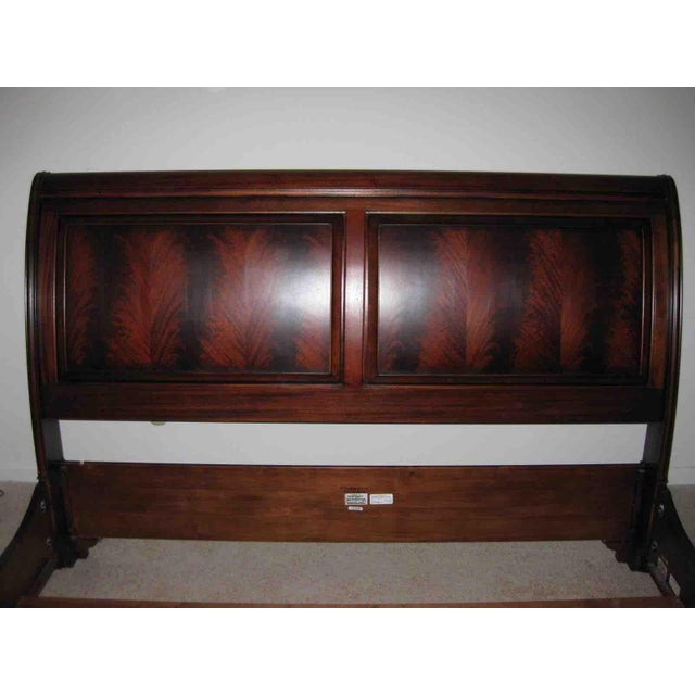 Ethan Allen Ethan Allen King Sleigh Bed For Sale - Image 4 of 11