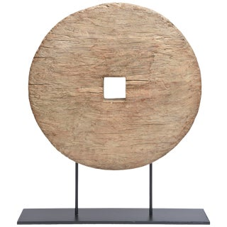Wood and Metal Organic Sculpture For Sale