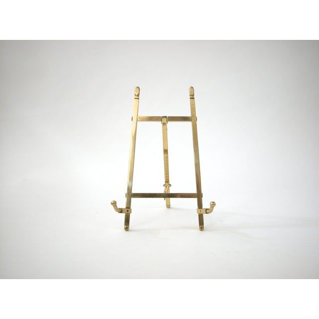 Folding Brass Easel- on Hold - Not for Sale - Image 3 of 6