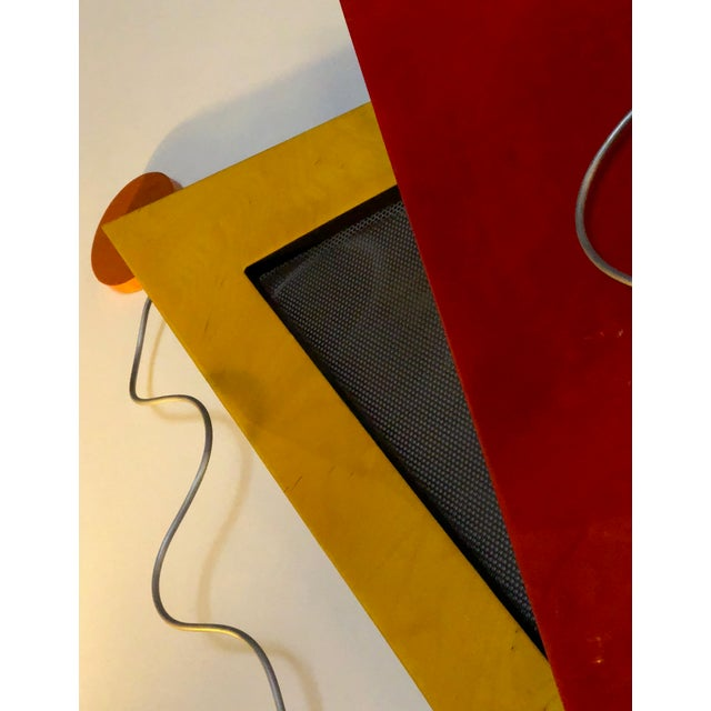 Memphis Memphis Group Wall Sculpture, in the Style of Ettore Sottsaas, 1980s For Sale - Image 3 of 5