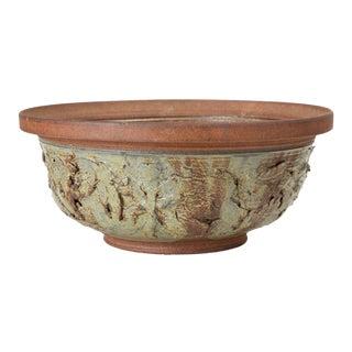Ed Drahanchuk Appliquéd Stoneware Bowl