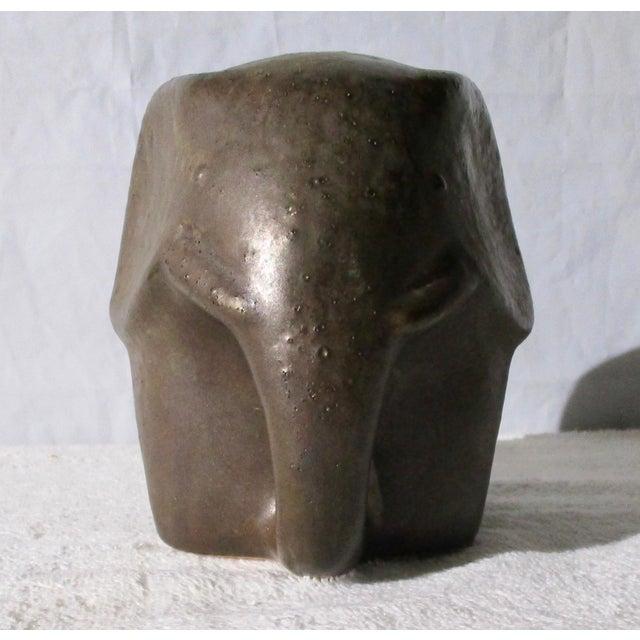 Danish Modern Elephant Sculpture For Sale - Image 3 of 6