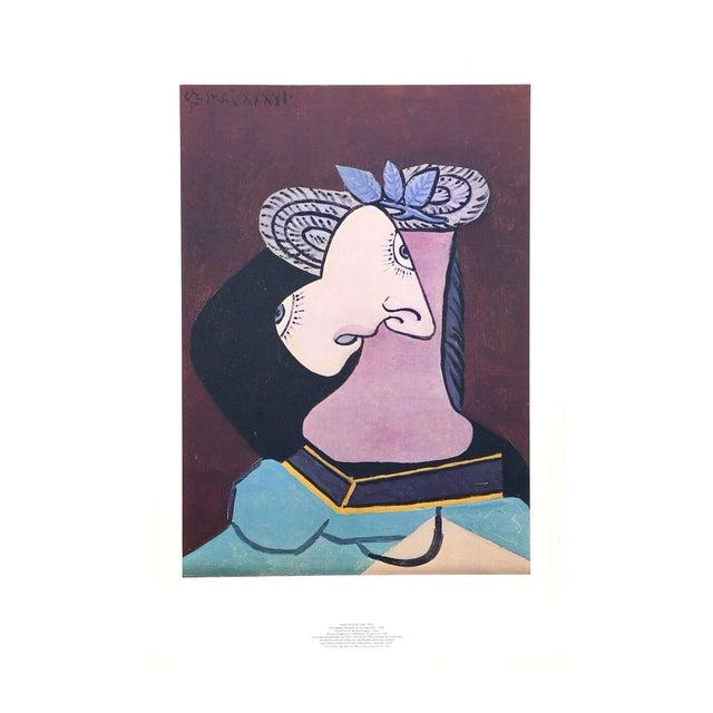 """Pablo Picasso """"Le Chapeau De Paille"""" Lithograph - Image 1 of 2"""