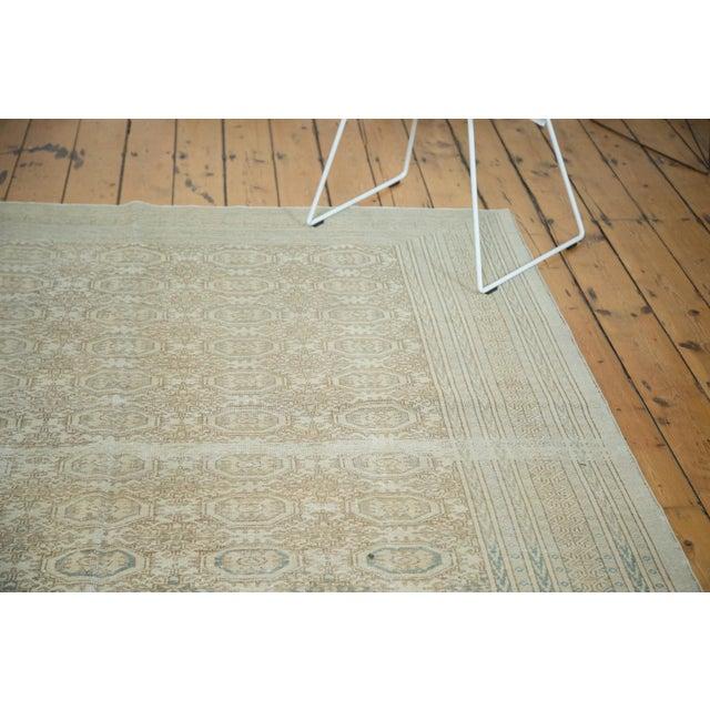 "Vintage Distressed Kaisary Carpet - 6'7"" x 9'5"" - Image 9 of 10"