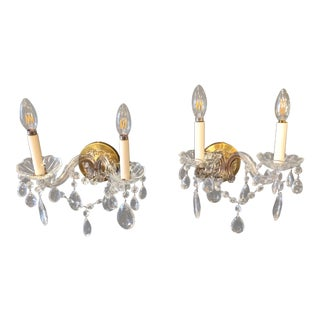 Marie Theresa Sconces - A Pair For Sale