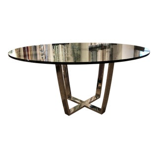 Art Deco Swaim Delilah Round Dining Table For Sale