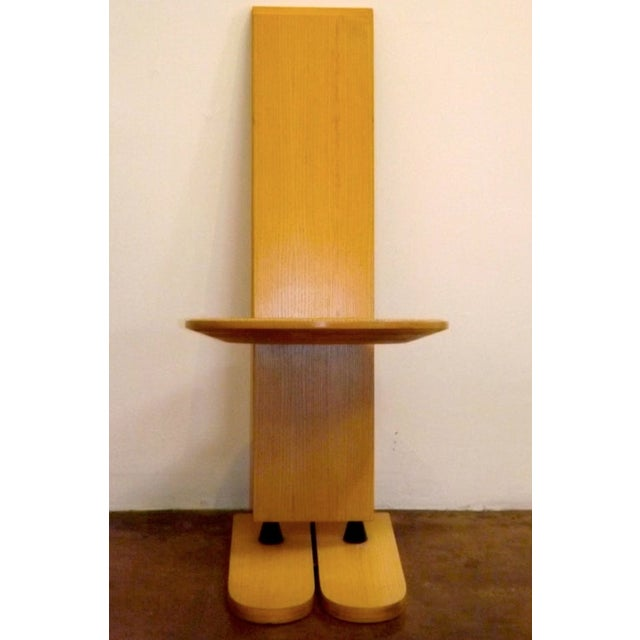 "Gigi Sabadin Rare Gigi Sabadinc""Pala"" Chairs - Set of 6 For Sale - Image 4 of 6"