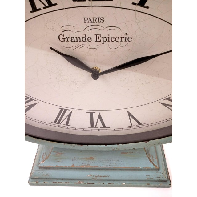 New Large Vintage-Style Mantel Clock For Sale - Image 9 of 9