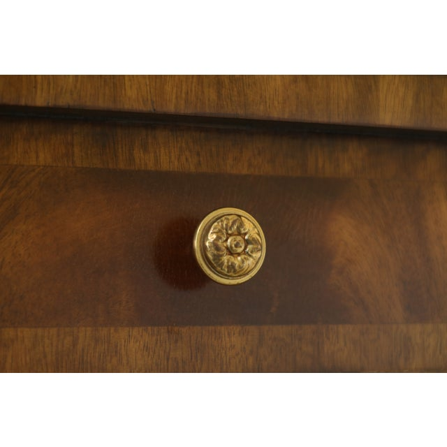 Maitland Smith Square Mahogany Games Table W. Reversible Top For Sale - Image 10 of 12