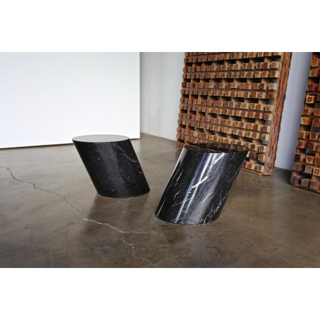 Marble Stump Tables by Lucia Mercer for Knoll - a Pair For Sale - Image 11 of 11