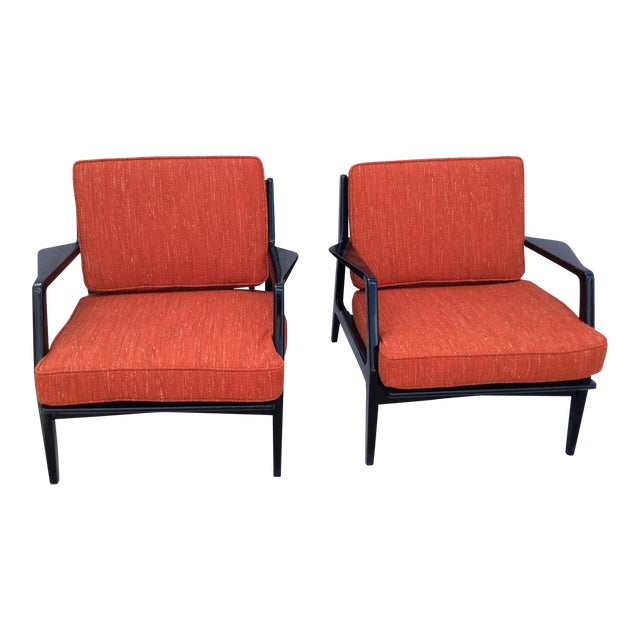 Mid Century Side Chairs - a Pair For Sale