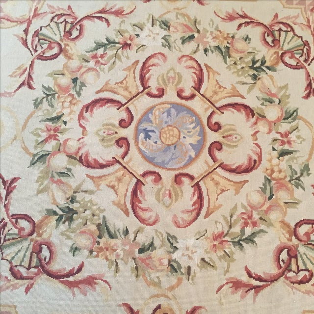 Vintage French Tapestry For Sale - Image 7 of 9