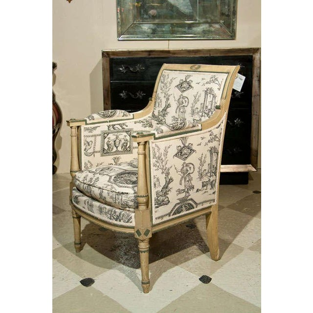 Maison Jansen French Directorie Bergeres by Jansen - A Pair For Sale - Image 4 of 10