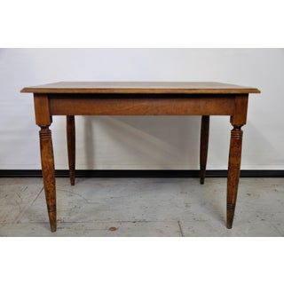 Vintage French Oak Farmhouse Dining Table Preview
