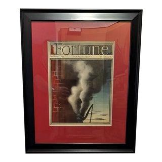 Art Deco Fortune Magazine Cover March 1937 For Sale