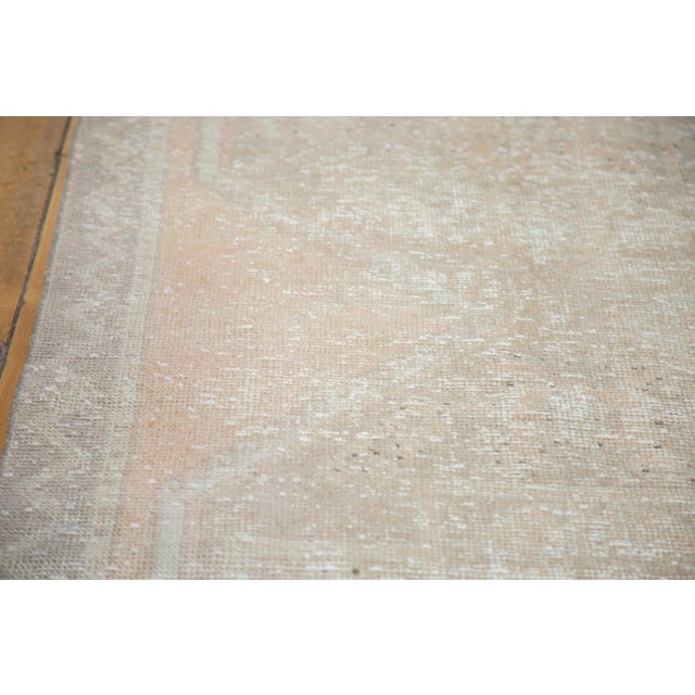 "Distressed Oushak Rug Runner - 3'5"" X 10'9"" - Image 5 of 8"