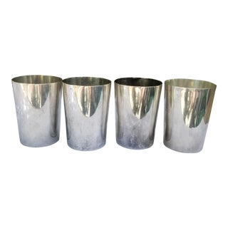 1920s Monogrammed Mint Julep Cups - Set of 4 For Sale