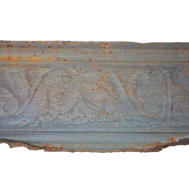 Vintage European Embossed Tin Object - Image 2 of 4