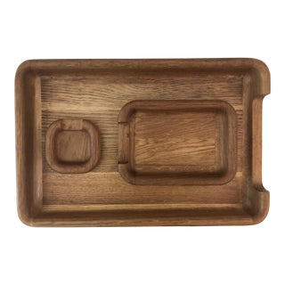 Modern Oak Desk Trays - Set of 3 For Sale