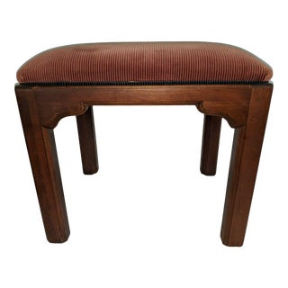 Ethan Allen Bench Chinoiserie Stool For Sale