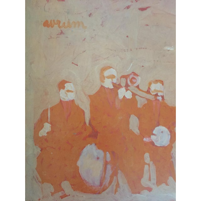Mid Century Bay Area Figurative Musicians Painting - Image 2 of 10
