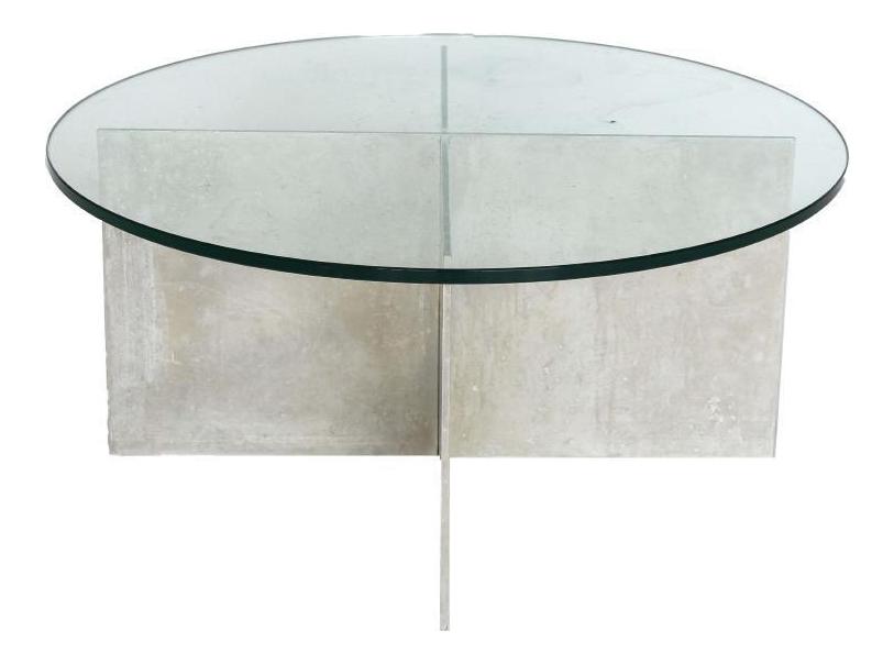 Paul Mayen For Habitat Minimalist Aluminium Coffee Table