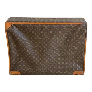 1970s Louis Vuitton Luggage Suitcase For Sale