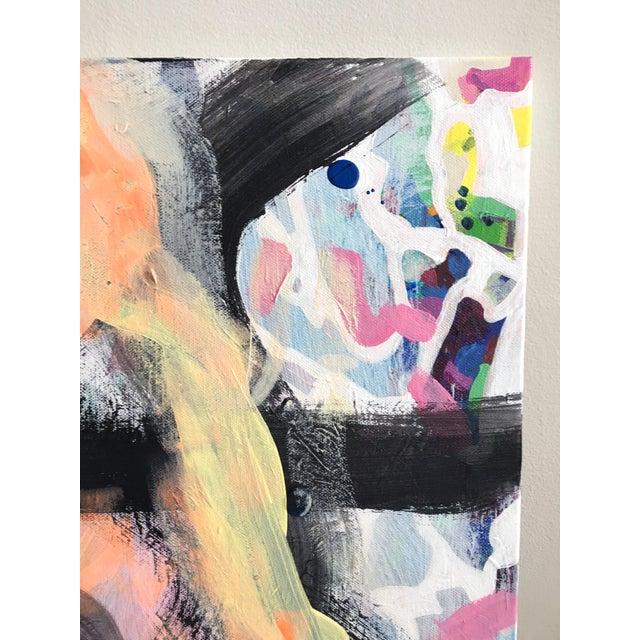 """Night Dreams"" Jessalin Beutler Original Painting For Sale - Image 4 of 6"