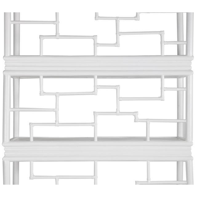 Not Yet Made - Made To Order Tibet Etagere - White For Sale - Image 5 of 10