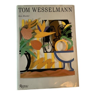 1990s Signed Tom Wesselmann Art Book For Sale