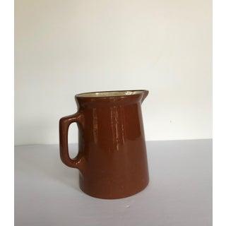 Vintage Weller Pottery Redware Pitcher/Milk Jug Preview