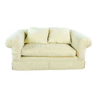 Kreiss Upholstered Two-Seater Sofa For Sale