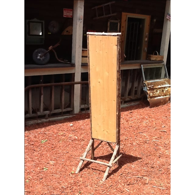 Rustic Standing Mirror - Image 6 of 7
