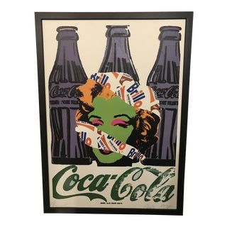 """""""Marilyn & Andy"""" Death by Nyc Print For Sale"""