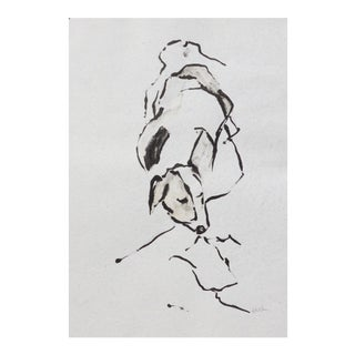 Contemporary Drawing, Sleeping Dog For Sale