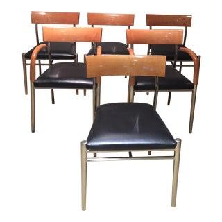 Tom Deacon for Bernhardt Studio Chairs - Set of 6