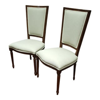 Modern Sarreid Uffizi Collection Side Chairs - A Pair For Sale