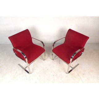 Pair of Vintage Modern Cantilever Armchairs Preview