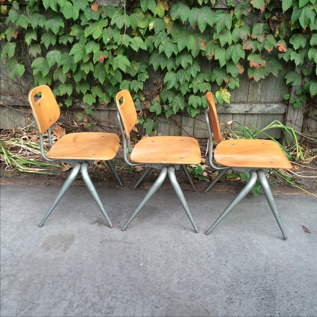 Brunswick Co. Brunswick Plywood Children's Chairs - Set of 3 For Sale - Image 4 of 7