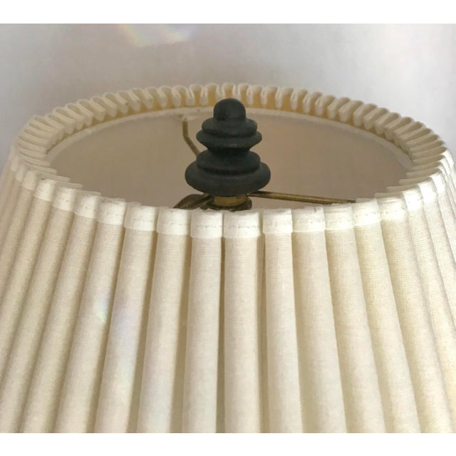 Mid-Century Glazed Lamp - Image 3 of 4
