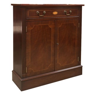 English Mahogany Credenza For Sale
