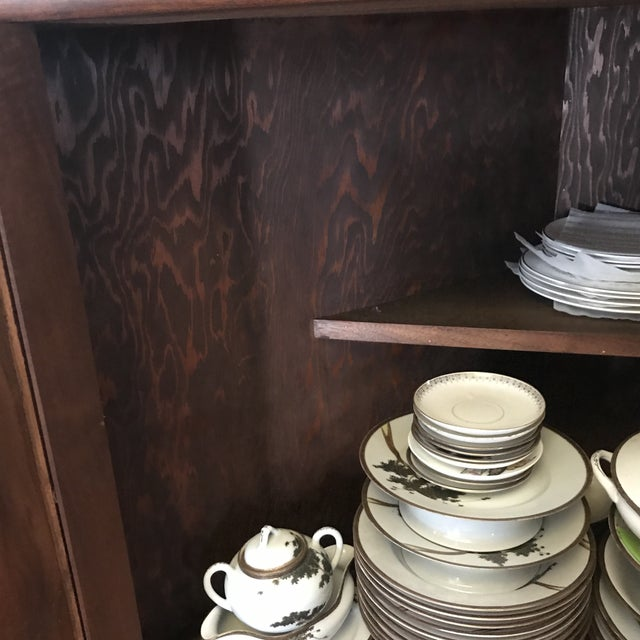 Mid 19th Century Antique Corner China Cupboard For Sale - Image 5 of 10
